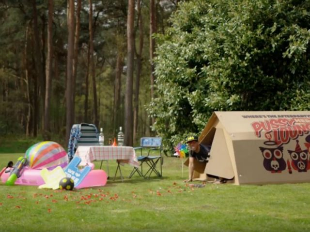 Cardboard Eco Tents for Festivals